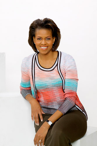 Michelle Obama Cover shoot for Urban Influence Magazine